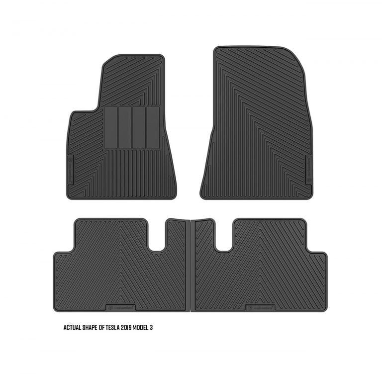 2019 Tesla Model 3 custom floor mats