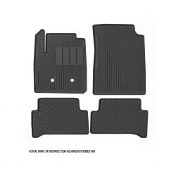 Chevrolet 2018 Colorado Extended Cab floor mats